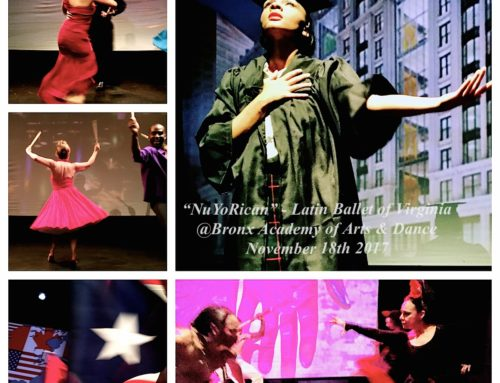 NEWYORICANGIRL's memoir to be featured on stage in collaboration with the Latin Ballet of Virginia!