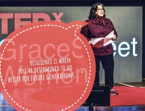 NEWYORICANGIRL delivers TEDx Talk; receiving standing ovation after revealing her childhood trauma events and resiliency. #tedxgracestreetwomen #ptsd #aces #childhoodtrauma #rape
